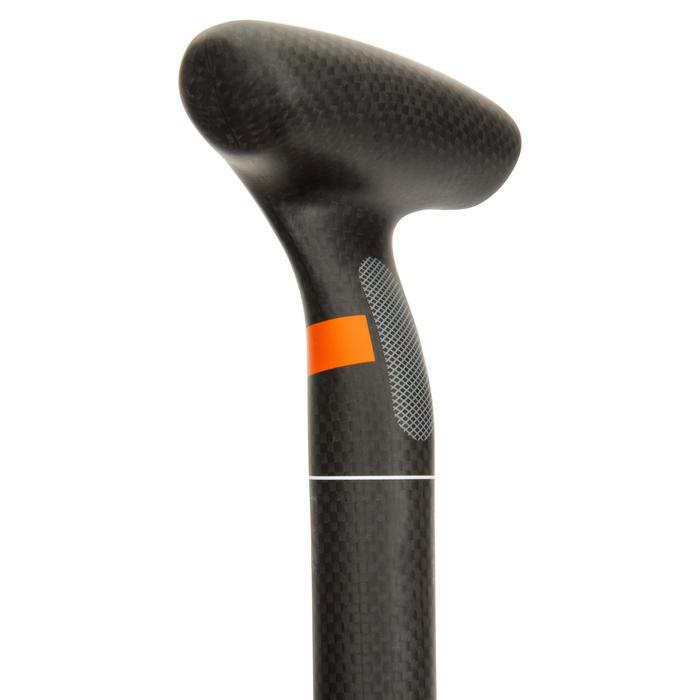 Demonteerbare en verstelbare sup-peddel 900 carbon 170-210 cm zwart - 1279054