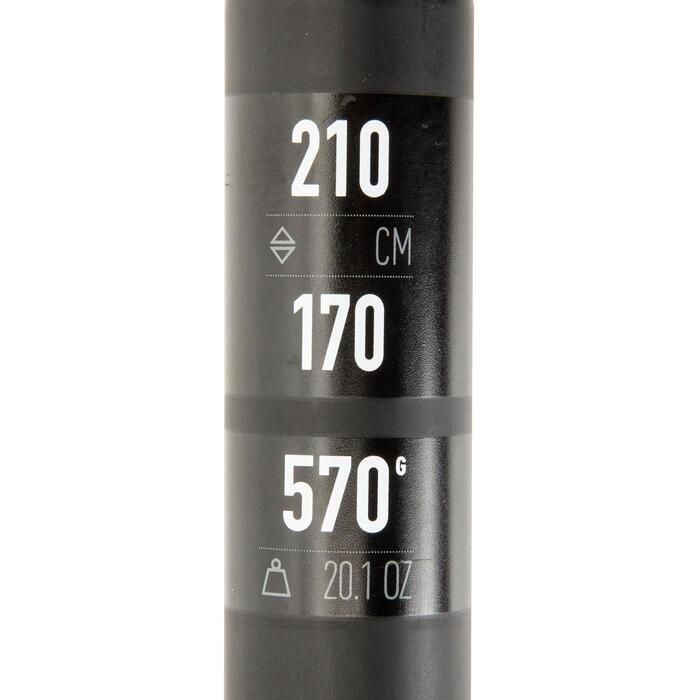Demonteerbare en verstelbare sup-peddel 900 carbon 170-210 cm zwart - 1279065