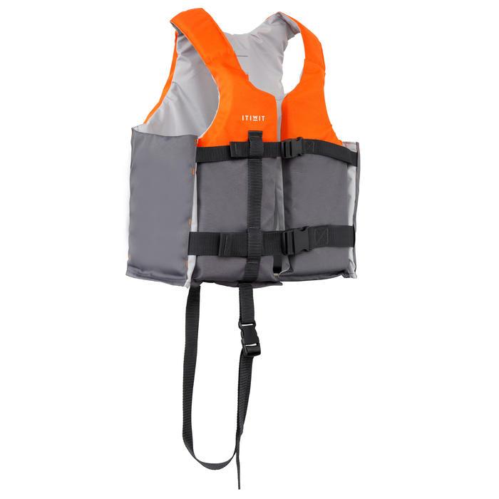 Zwemvest 50N+ oranje voor kajak supboard zwaardboot