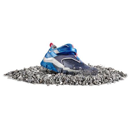 Children's Low top mountain walking shoes Crossrock Blue 24-34
