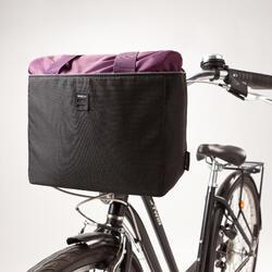 Soepele fietsmand vooraan 10 liter
