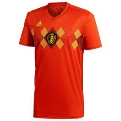 Voetbalshirt voor volwassenen replica thuisshirt België 2018 rood