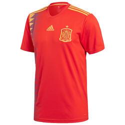 Camiseta réplica de fútbol para adulto España local rojo
