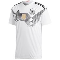 Voetbalshirt voor kinderen, replica thuisshirt Duitsland 2018 wit
