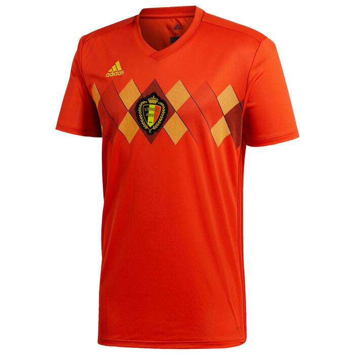 Fußballtrikot Belgien 2018 Replica Heimtrikot Kinder rot