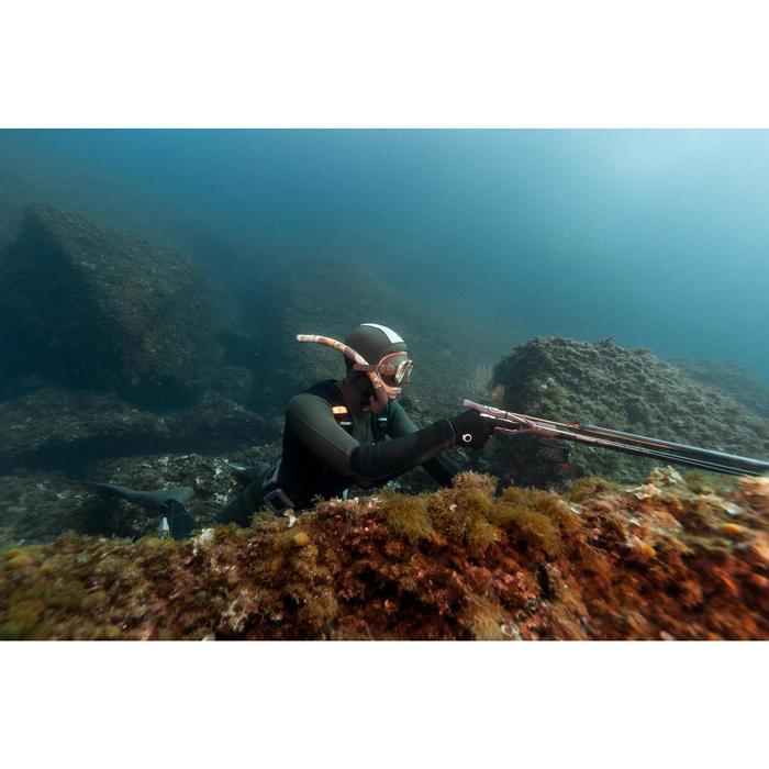 Snel af te werpen ballastgordel voor harpoenvissen één maat zwart