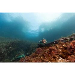 Snorkel voor harpoenduiken en vrijduiken Zoom Pro Camu 3 D