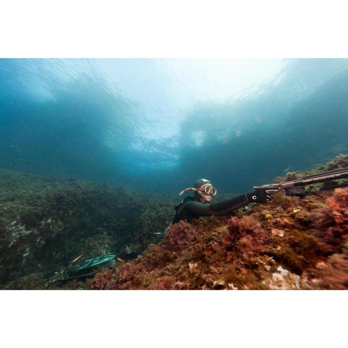 Tuba de chasse sous-marine en apnée Zoom Camu 3D