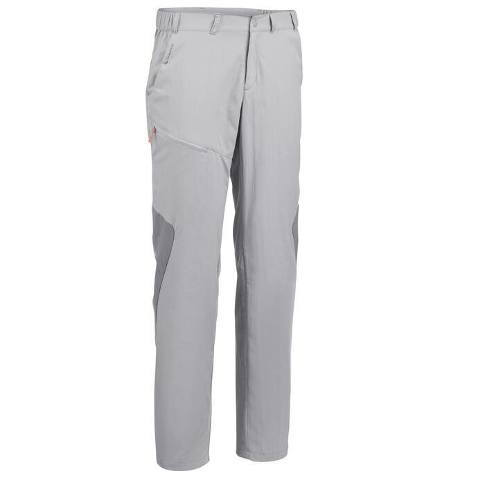 Pantalon Randonnée Montagne MH100 homme Gris - 1279290