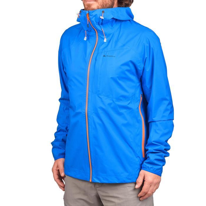 Veste imperméable de randonnée rapide Homme FH500 Helium Rain - 1279304