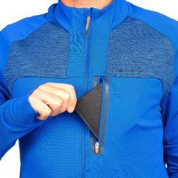 Fleecejacke Speed Hiking FH500 Helium Herren elektric-blau