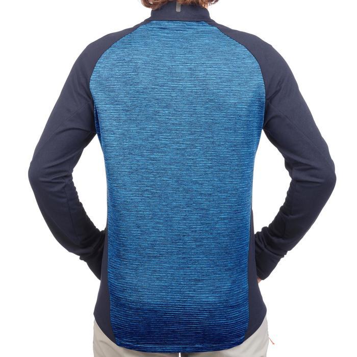 Veste Polaire de randonnée rapide Homme FH500 Helium bleu marine