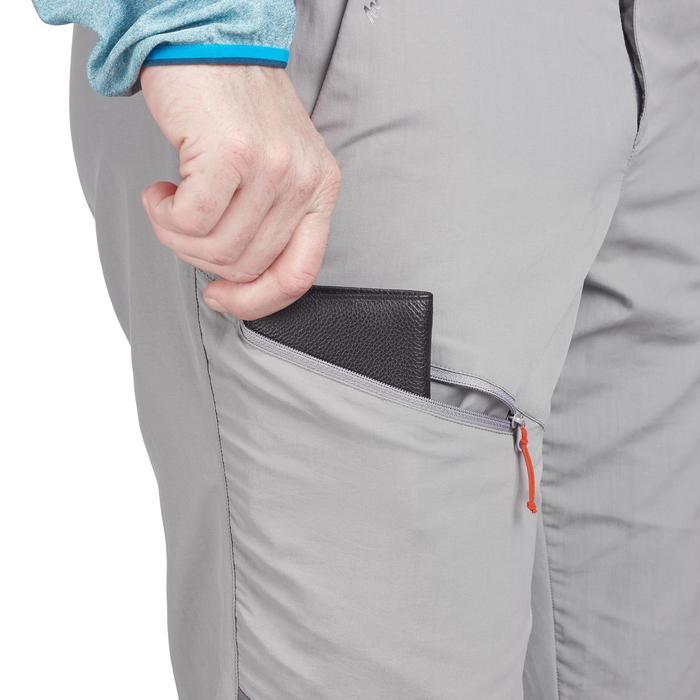 Pantalon Randonnée Montagne MH100 homme Gris - 1279317
