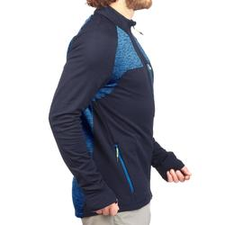 Fleecejacke Speed Hiking FH500 Helium Herren marineblau
