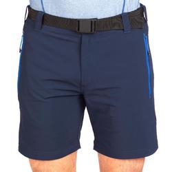 Short de randonnée montagne MH500 court homme bleu marine.