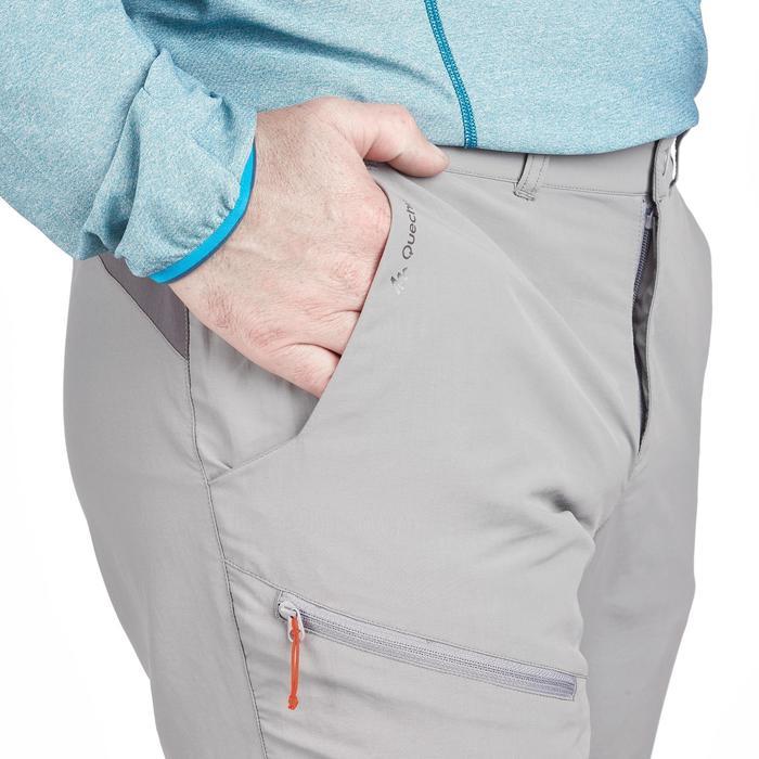Pantalon Randonnée Montagne MH100 homme Gris - 1279334