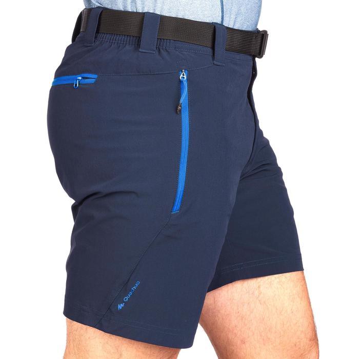 Pantalón corto de senderismo rápido hombre Helium Wind 500 Azul marino