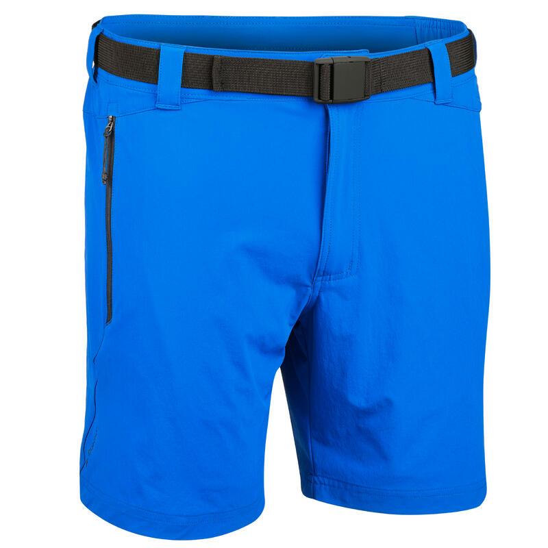 buy best sneakers look good shoes sale Pantalons - Shorts - Short de randonnée rapide homme FH 500 Helium Bleu  électrique.