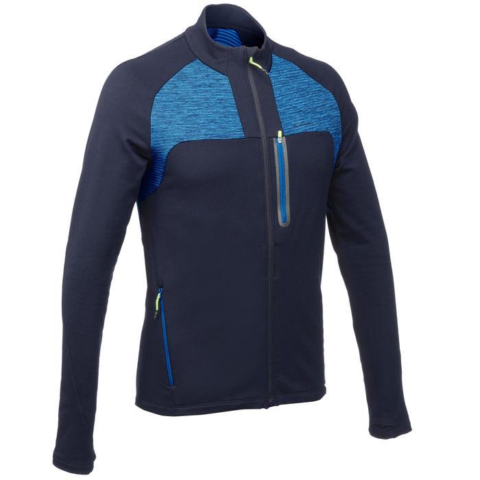 quechua veste polaire de randonn e rapide homme fh500 helium bleu marine decathlon. Black Bedroom Furniture Sets. Home Design Ideas