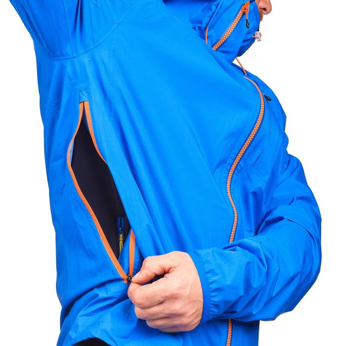Windjacke Speed-Hiking FH500 Helium Rain Herren blau