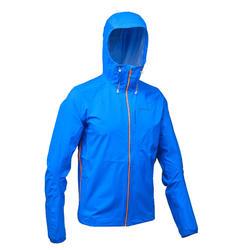 Jacke Speed Hiking FH500 Helium Rain wasserdicht Herren blau