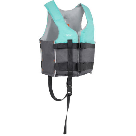 Kayak BA 50N+, Stand-Up-Paddle dan Dinghy Buoyancy Aid - Biru