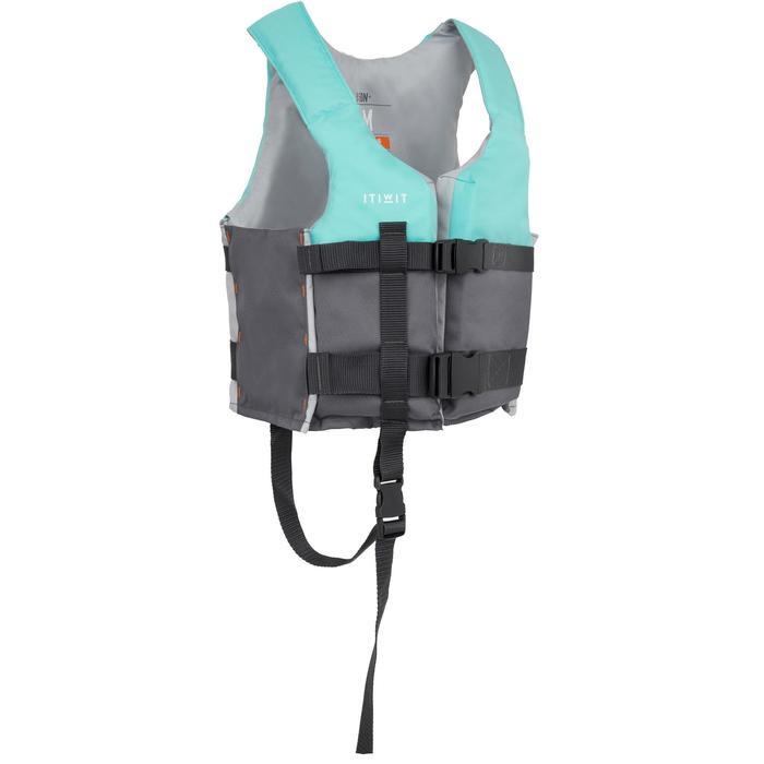 GILET AIDE A LA FLOTTABILITE 50N+  bleu kayak stand up paddle dériveur - 1279381