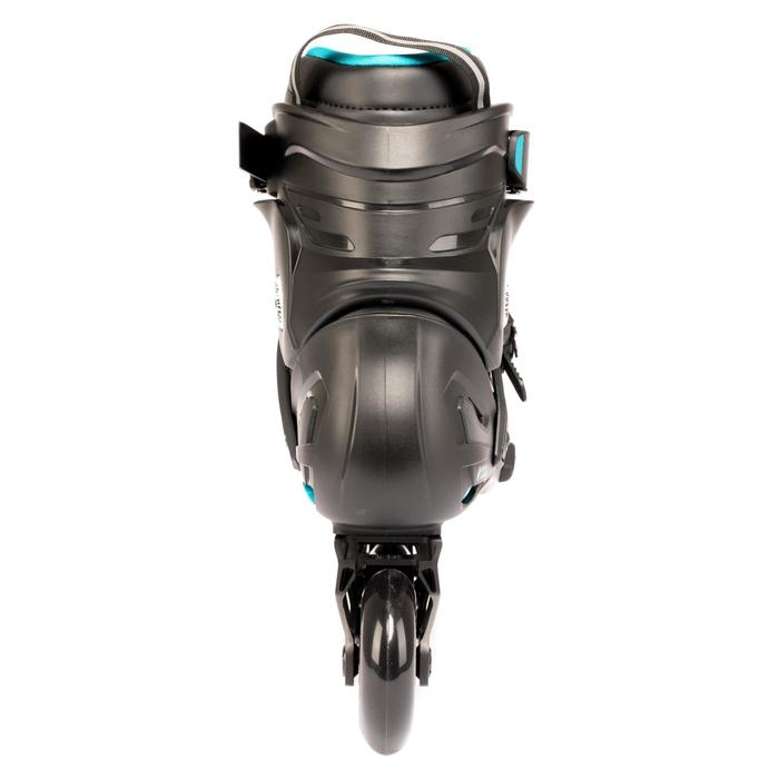 Roller freeride adulte  MF500 HardBoot noir bleu - 1279397