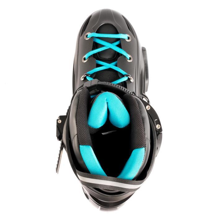 Roller freeride adulte  MF500 HardBoot noir bleu - 1279399