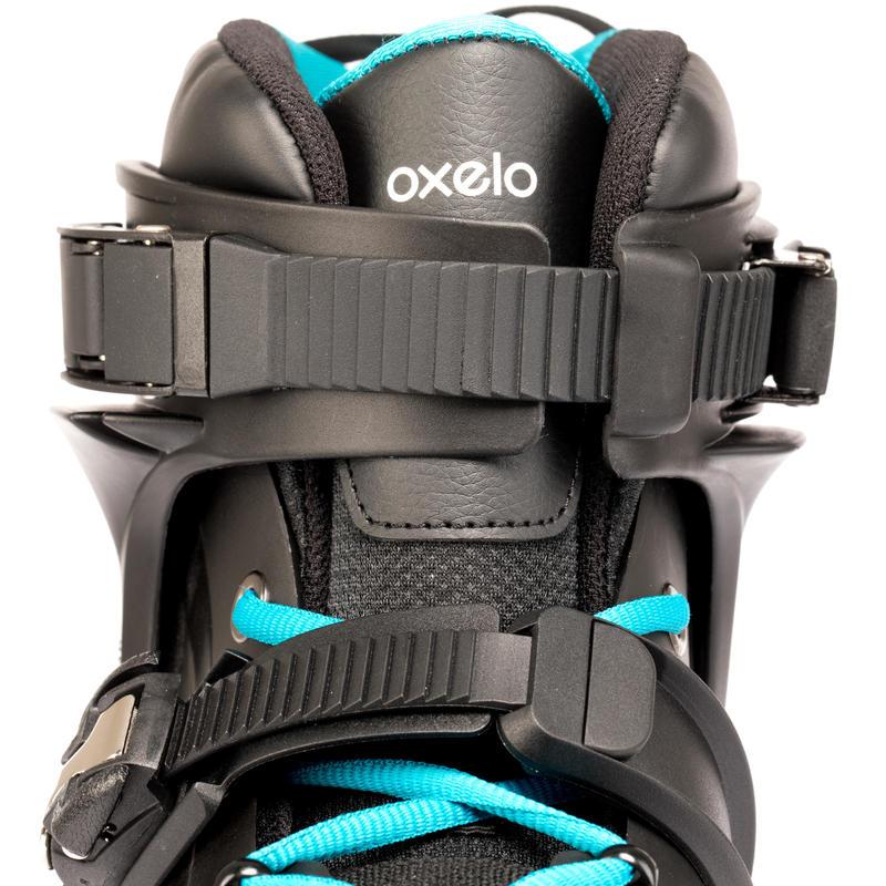 MF500 HardBoot Adult Freeride Skate - Black/Blue