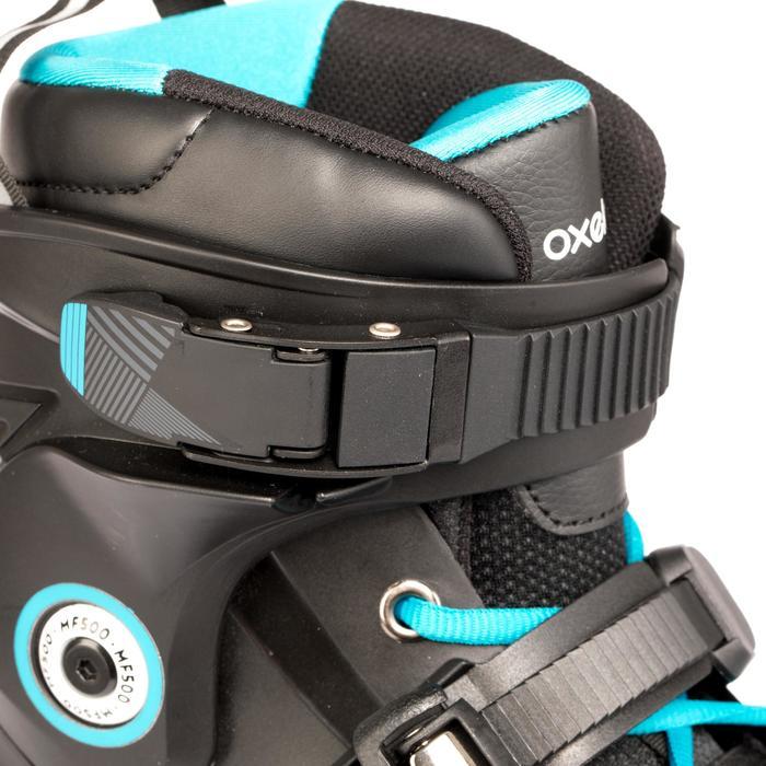 Roller freeride adulte  MF500 HardBoot noir bleu - 1279405