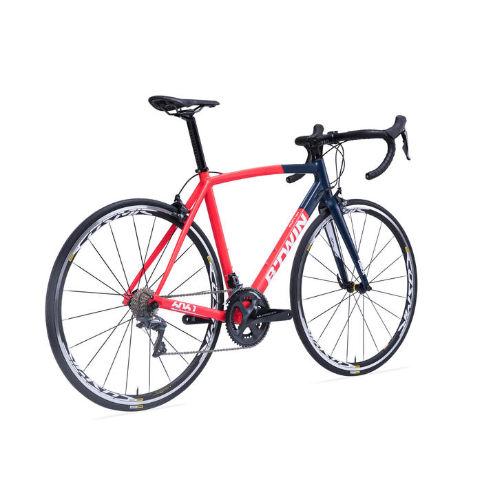 Racefiets BTWIN Ultra 920 AF rood/blauw