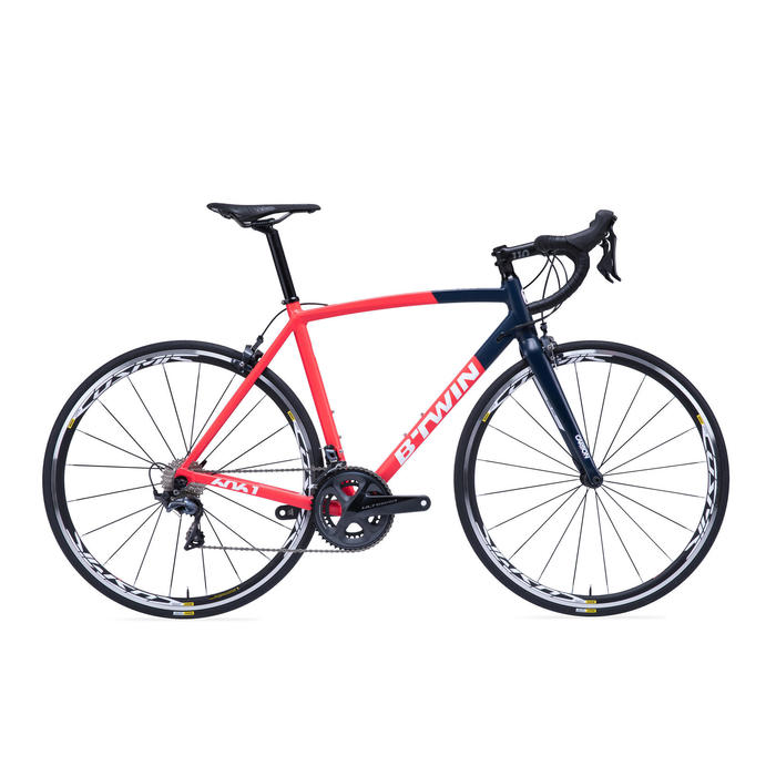 VELO ROUTE BTWIN ULTRA 920 AF Rouge/Bleu - 1279409