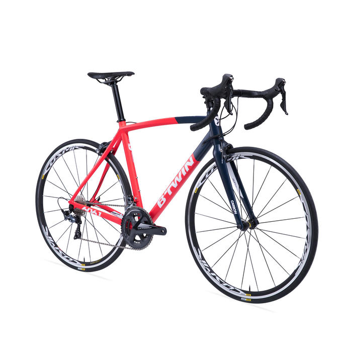 VELO ROUTE BTWIN ULTRA 920 AF Rouge/Bleu