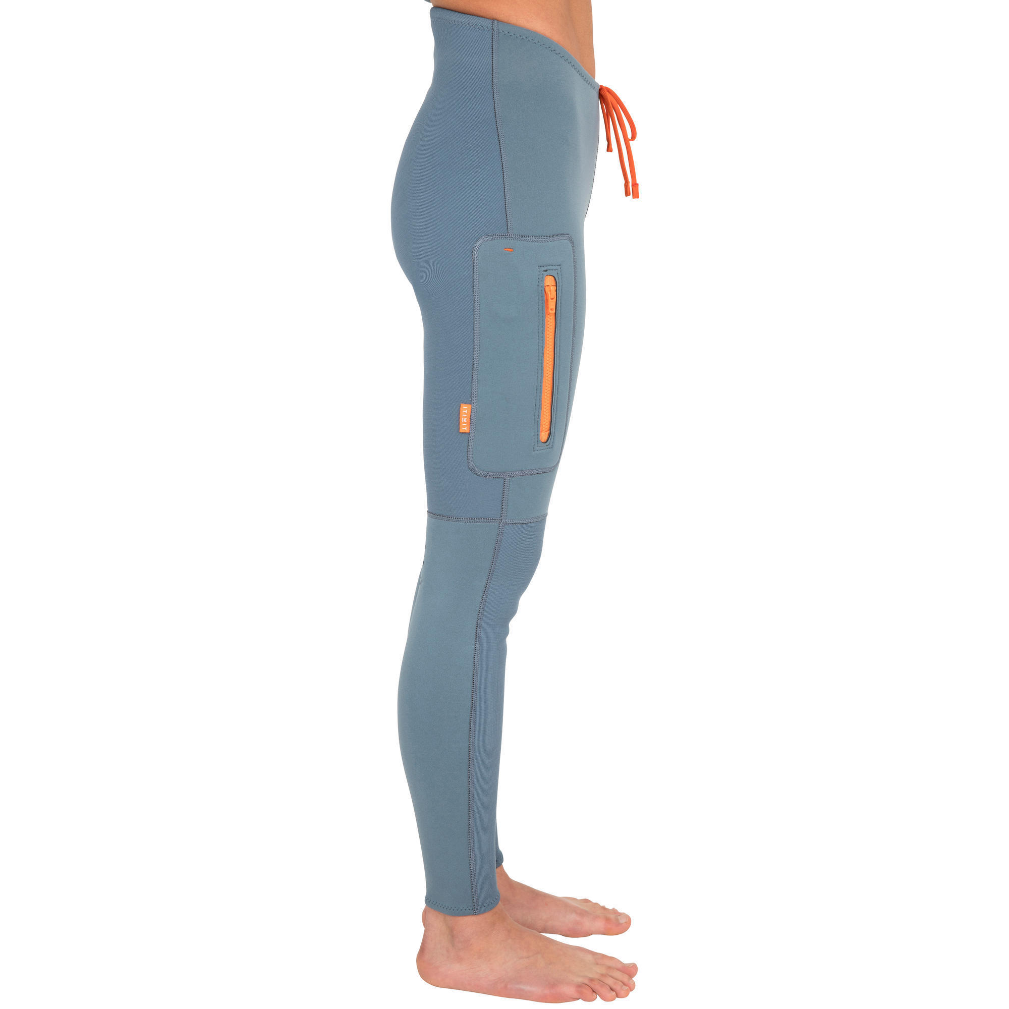 Neoprene Stand 500 Femme Pantalon Kayak Et Up Paddle Itiwit 2mm Bleu CxAqgwt8