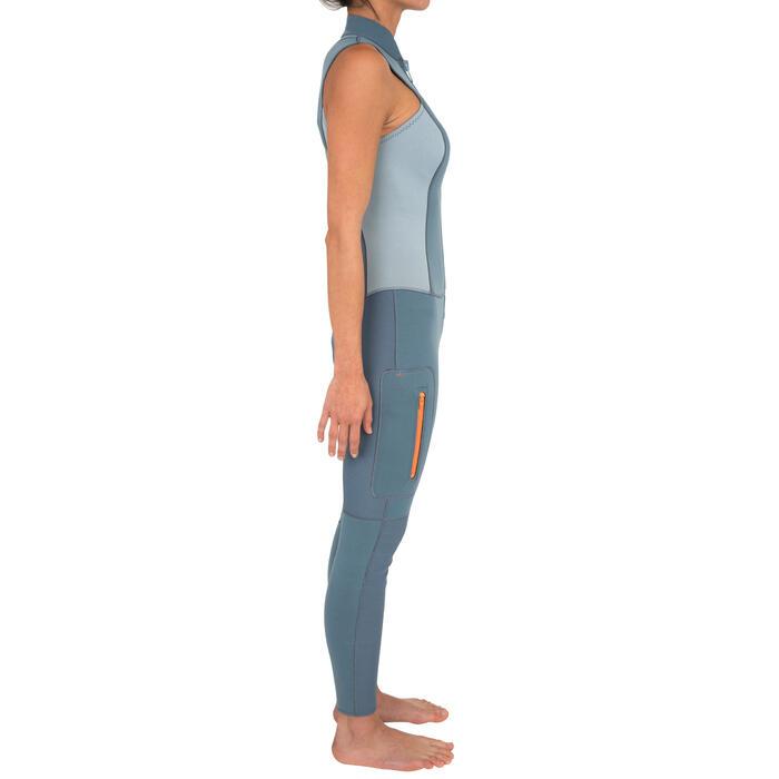 COMBINAISON DEBARDEUR KAYAK STAND UP PADDLE 500  FEMME NEOPRENE 2MM - 1279537