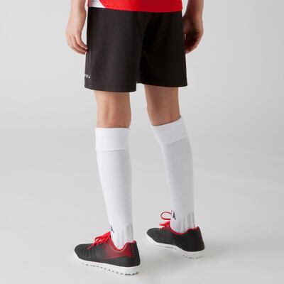 Pantaloneta fútbol niños F100 negro