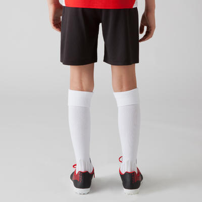 F100 Kids' Football Shorts - Black