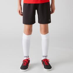 Calções de Futebol F100 Criança Preto