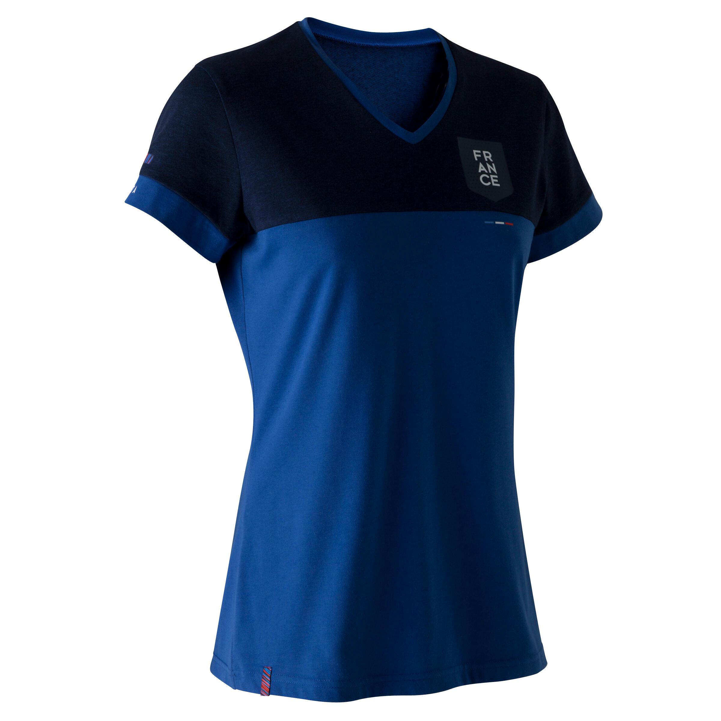 Kipsta Voetbalshirt Frankrijk FF100 voor dames blauw