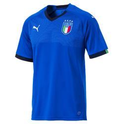 Voetbalshirt voor volwassenen, replica thuisshirt Italië 2018 blauw