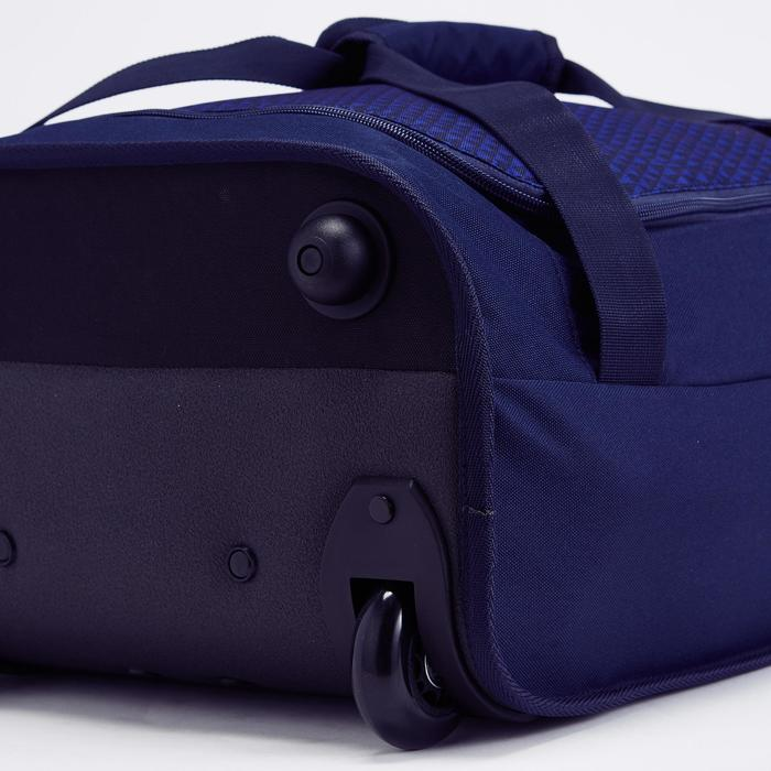 Handbagage trolley Classic 30 liter blauw/geel