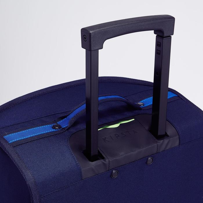 Sporttas op wielen voor teamsport Classic 30 liter blauw groen