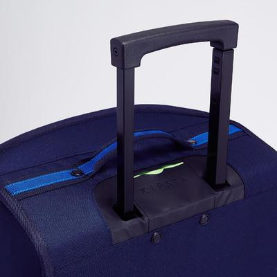 حقيبة رياضية بعجل سعة 30 لتر – باللون الأزرق والأخضر
