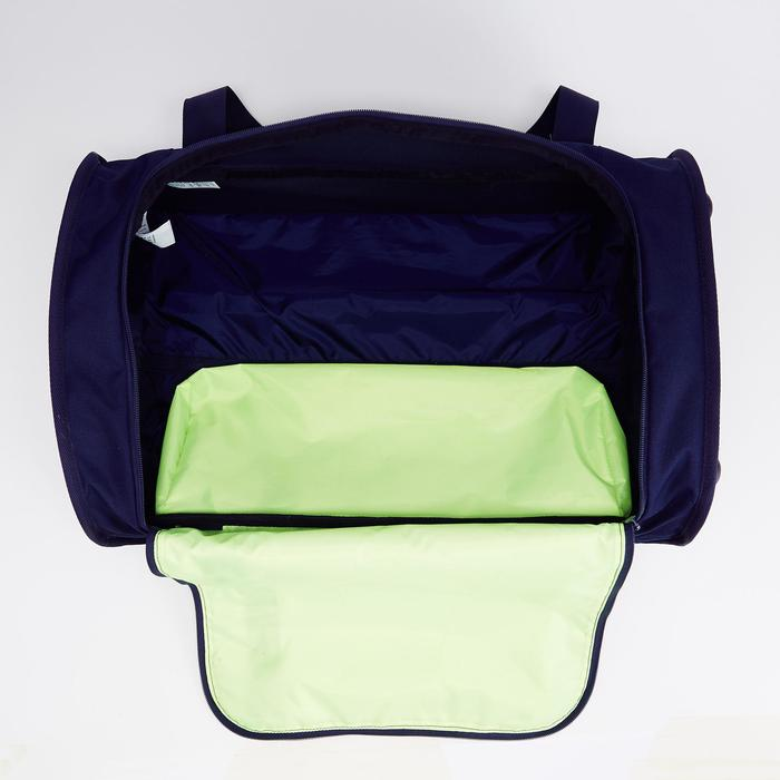 Classic 30L Rolling Team Sports Bag - Blue/Green
