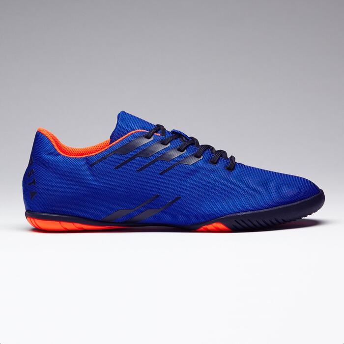 Zapatillas de fútbol sala CLR 300 azul naranja