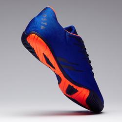 Tenis de fútbol sala adulto CLR 300 azul naranja