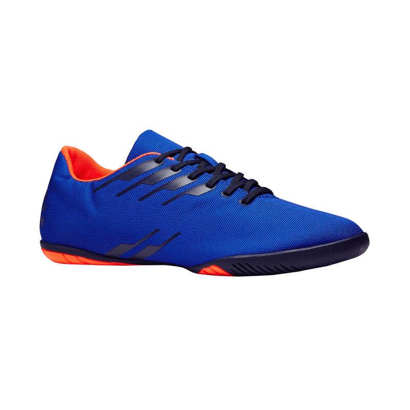FUTSAL SHOES HOMME Football - CLR 300 Futsal - Blue/Orange IMVISO - Football Boots