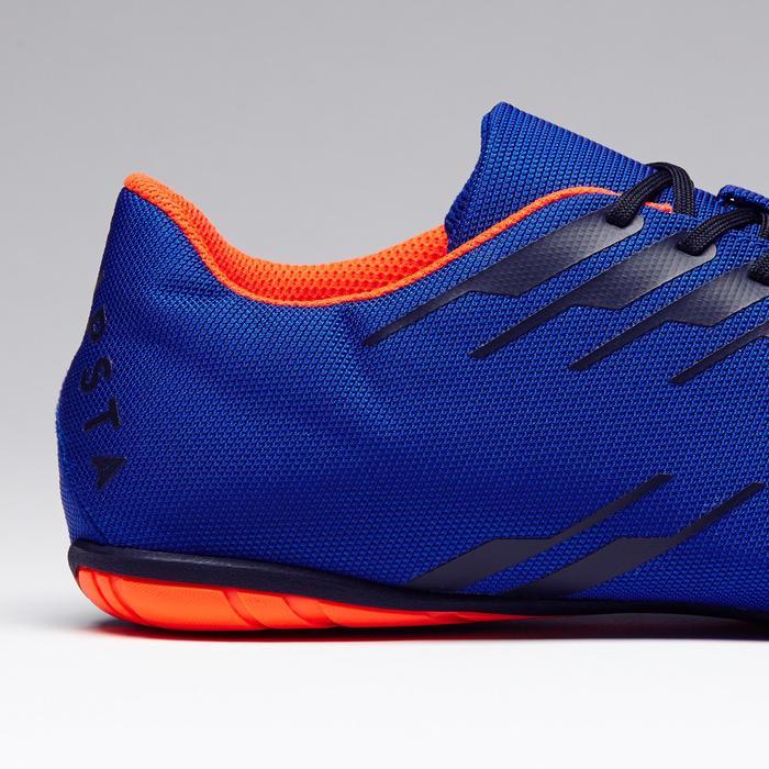Zapatillas de Fútbol Sala Kipsta CLR 300 adulto azul naranja