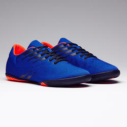 Chaussures de futsal adulte CLR 300 sala bleue orange